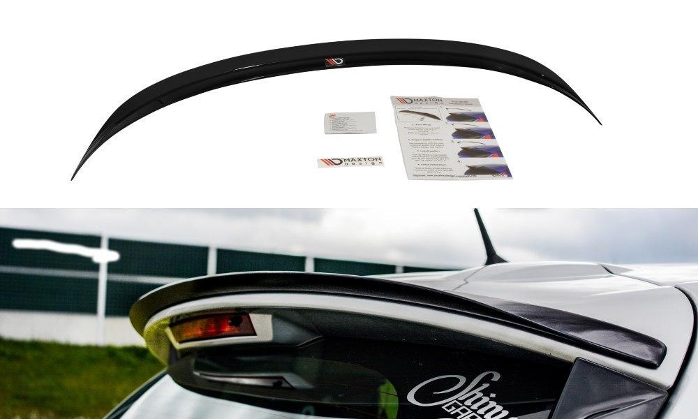 Lotka Lip Spoiler - Renault Clio Mk4 - GRUBYGARAGE - Sklep Tuningowy